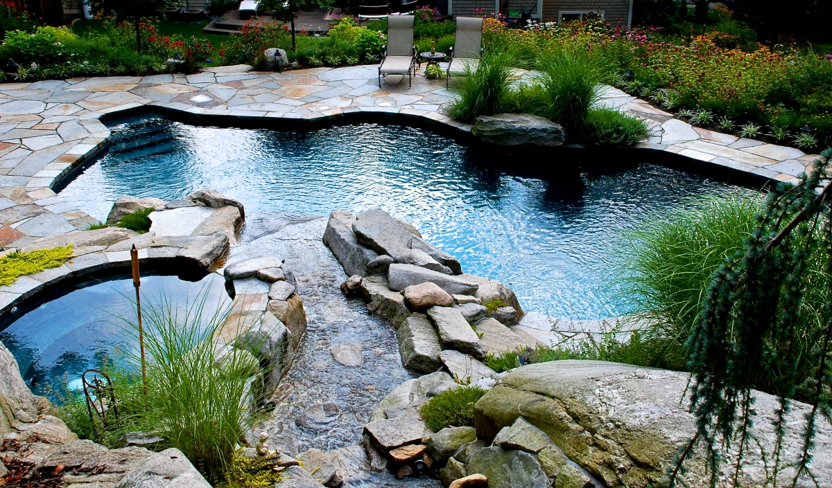 Natural Free Form Pools Surfside Pools